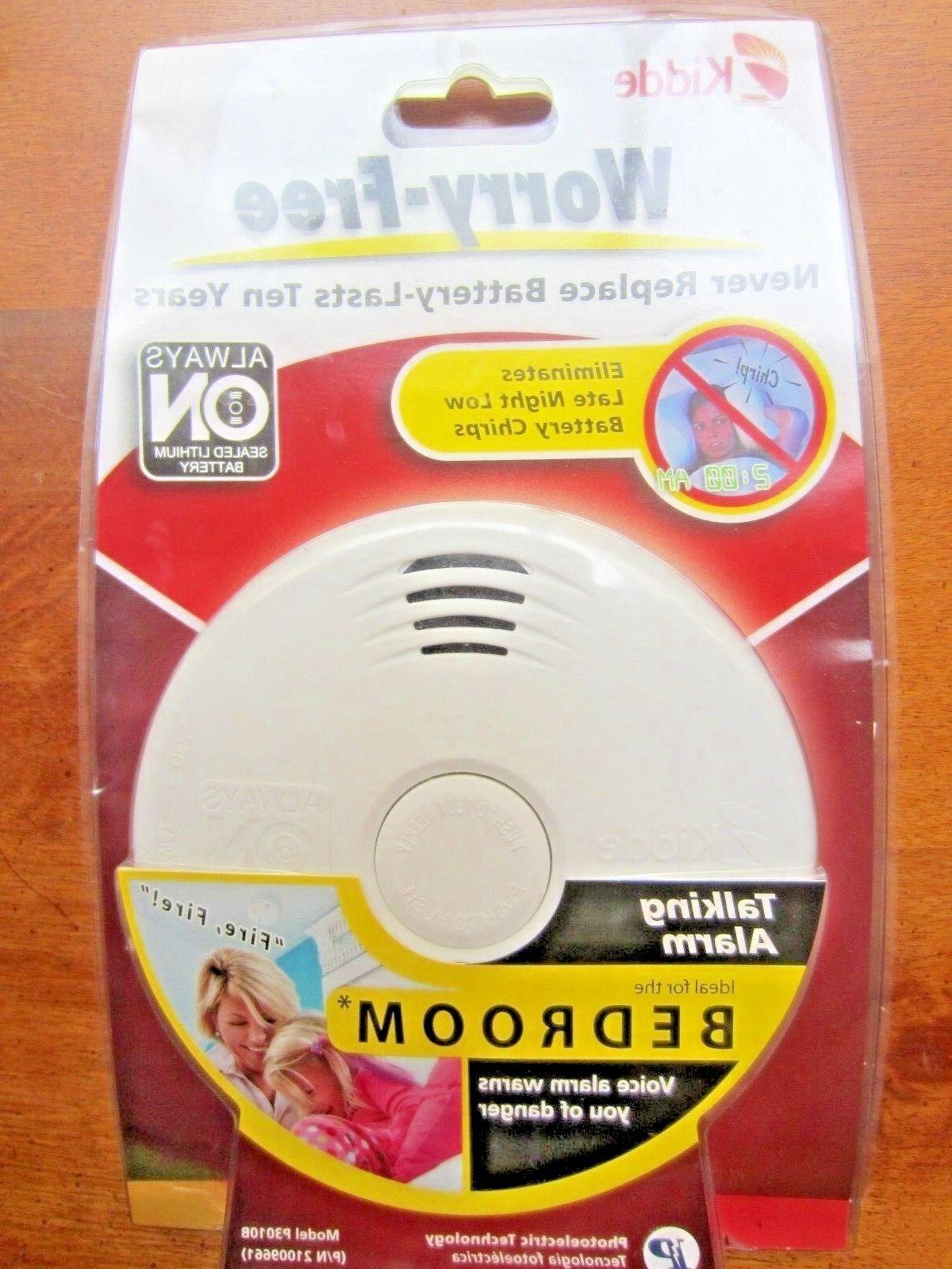 smoke alarm worry free talking smoke alarm