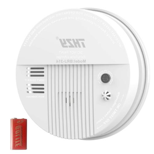 Smoke & Carbon Monoxide Alarm, THZY Battery Operated Carbon