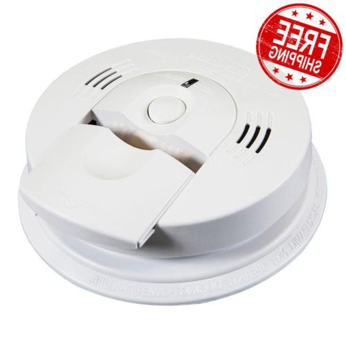 Smoke and Carbon Monoxide Alarm W Voice Warning Kidde Nighth