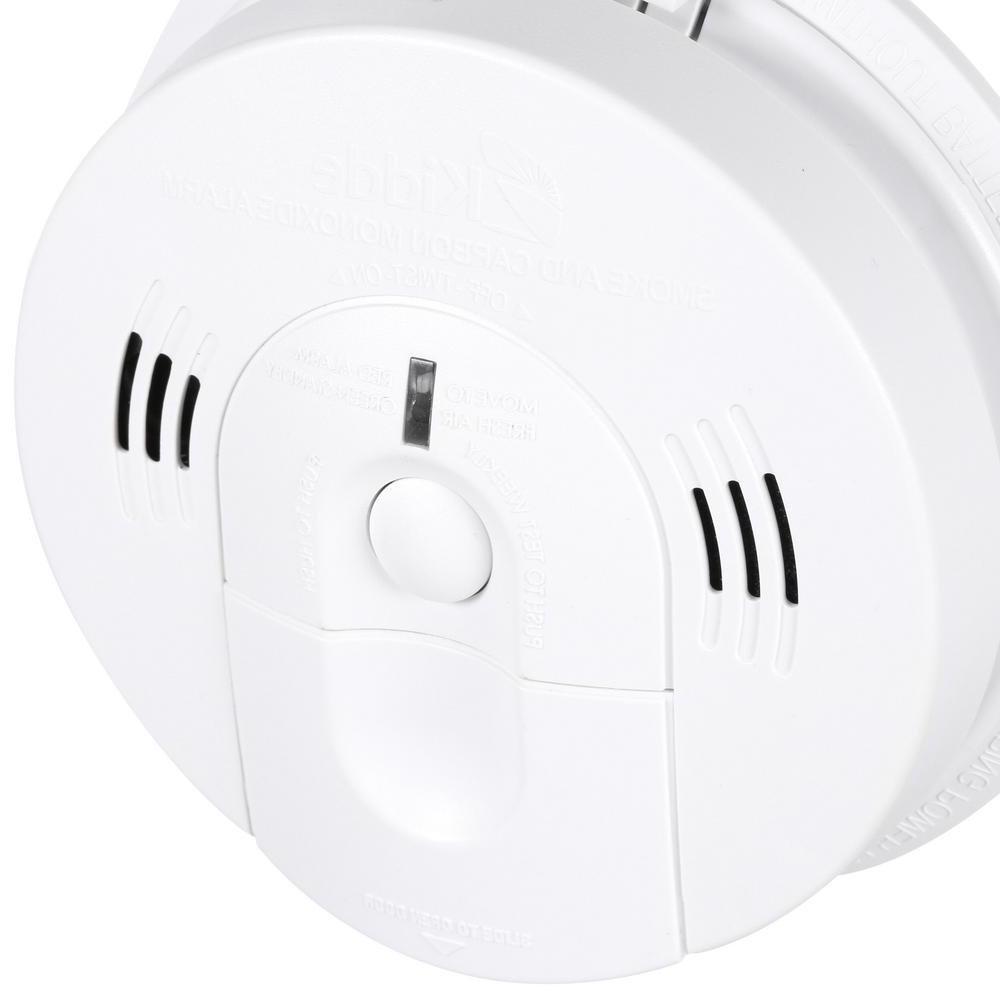 Kidde Smoke and Carbon Monoxide Detector Alarm Voice
