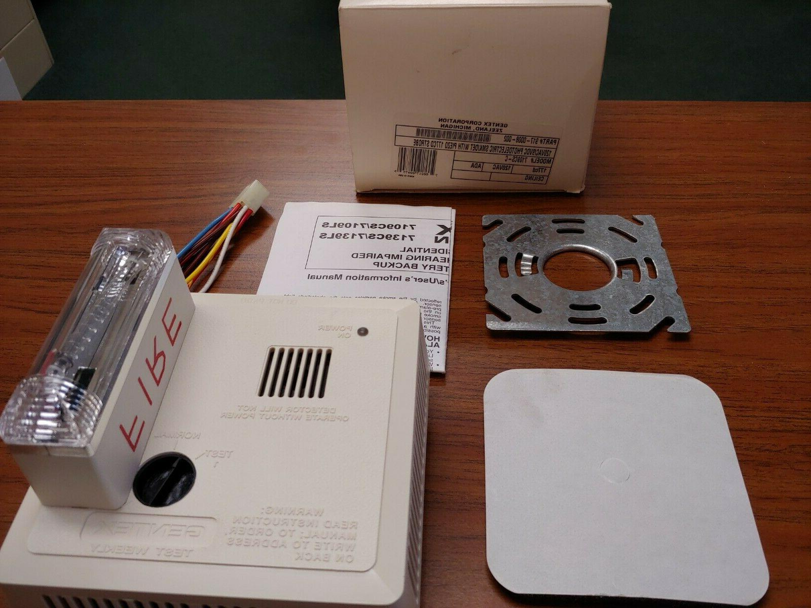 Gentex Smoke Detector 9120H & F, 7100H, 8240