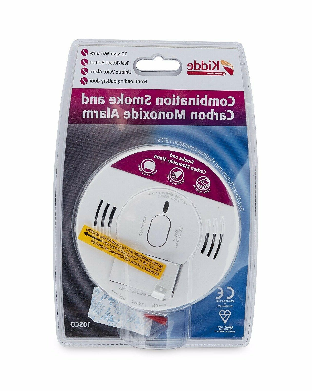 smoke carbon monoxide combination detector