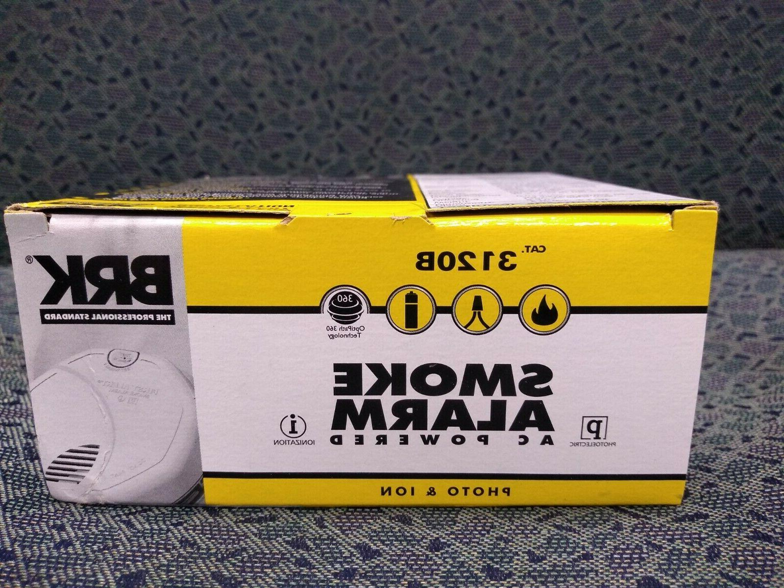 Smoke Ionization/Photo, Battery back
