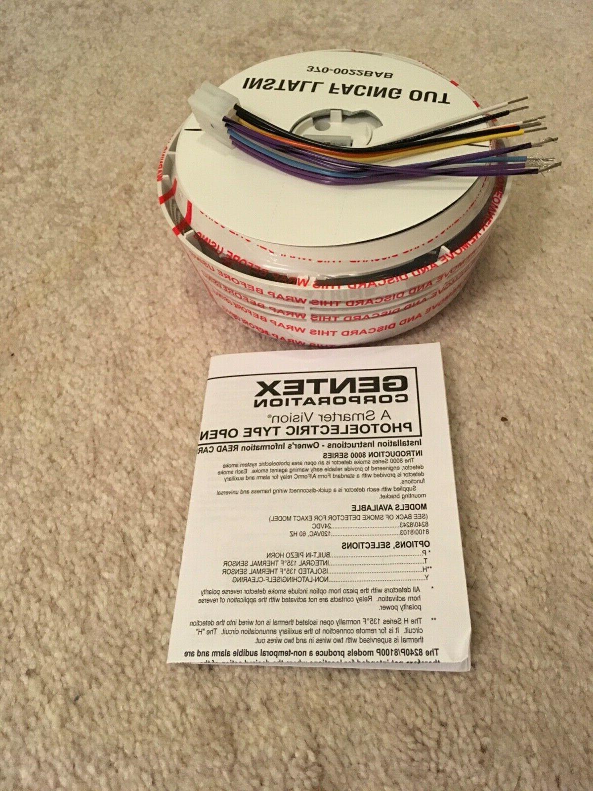 Gentex Detector 120V Non Latching Smoke Detector Brand New.