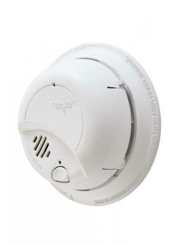 smoke detector alarm hardwired with backup battery