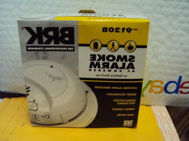 BRK Smoke Detector Alarms AC 9120B First PK.