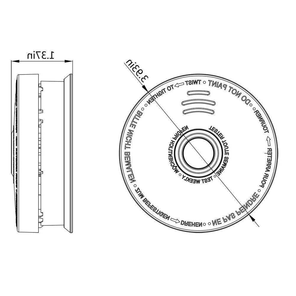 Siterwell Fire Alarm Photoelectric Sensor