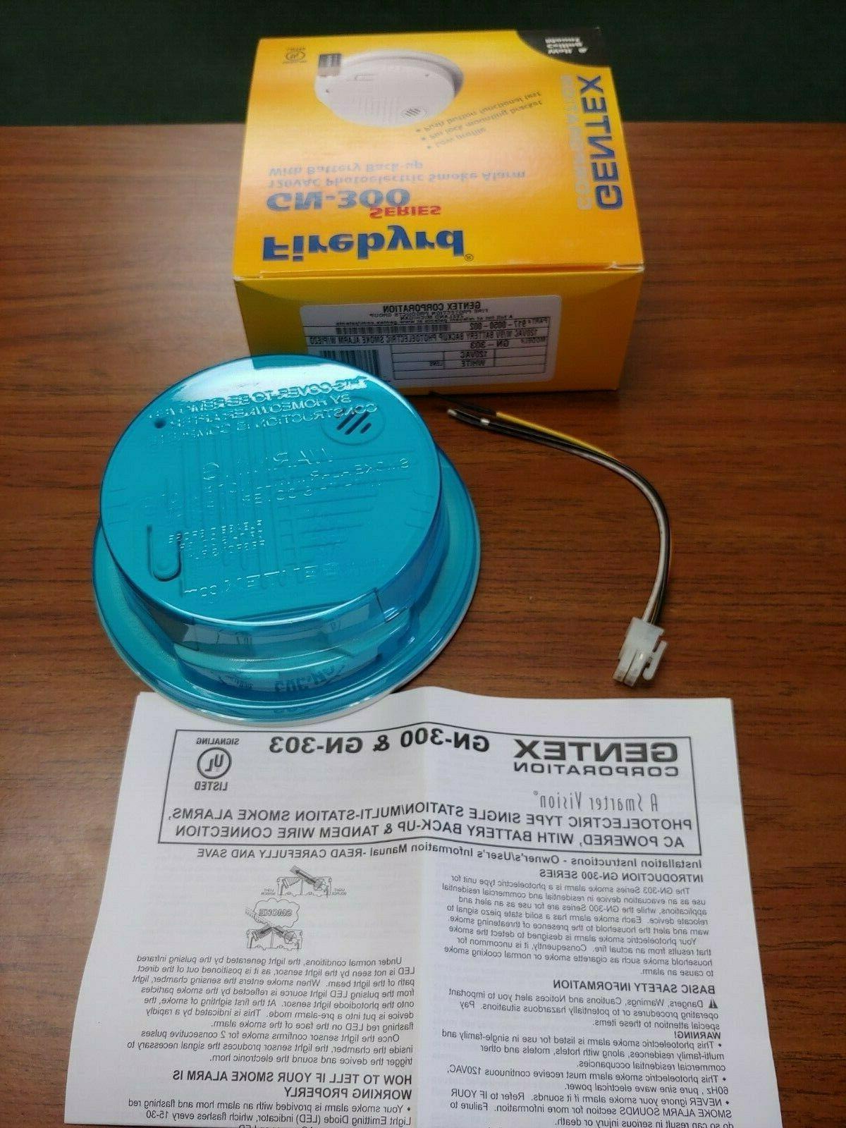 Gentex Detector GN-303, GN-503, 7139CS-W