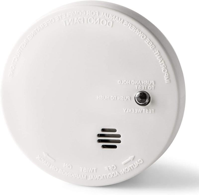 Indoor Home Safety Smoke Alarm Detector Battery Operated Ion