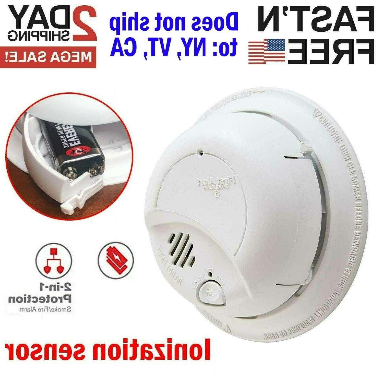 smoke detector fire alarm sensor escape notifier