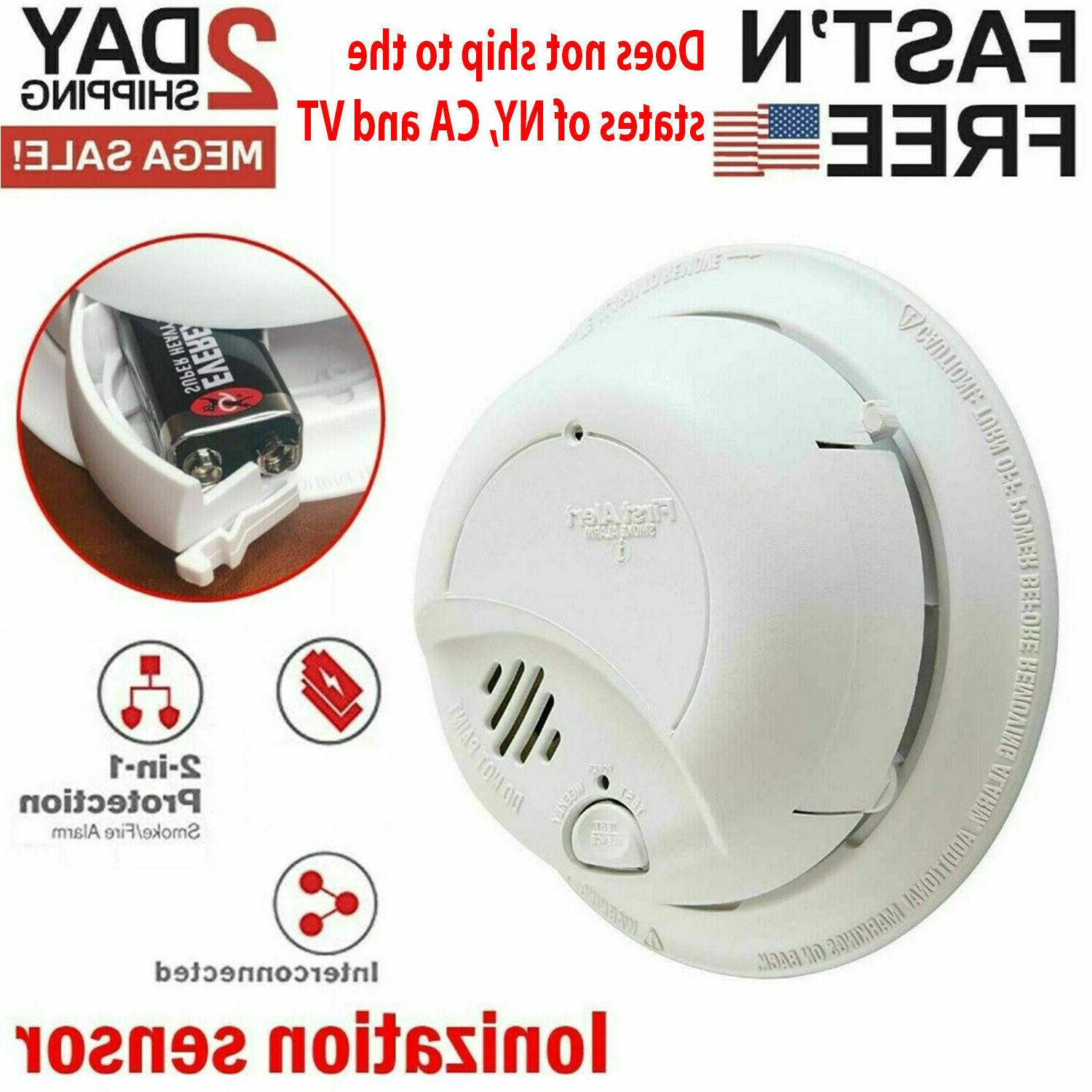 First Fire Alarm Notifier with
