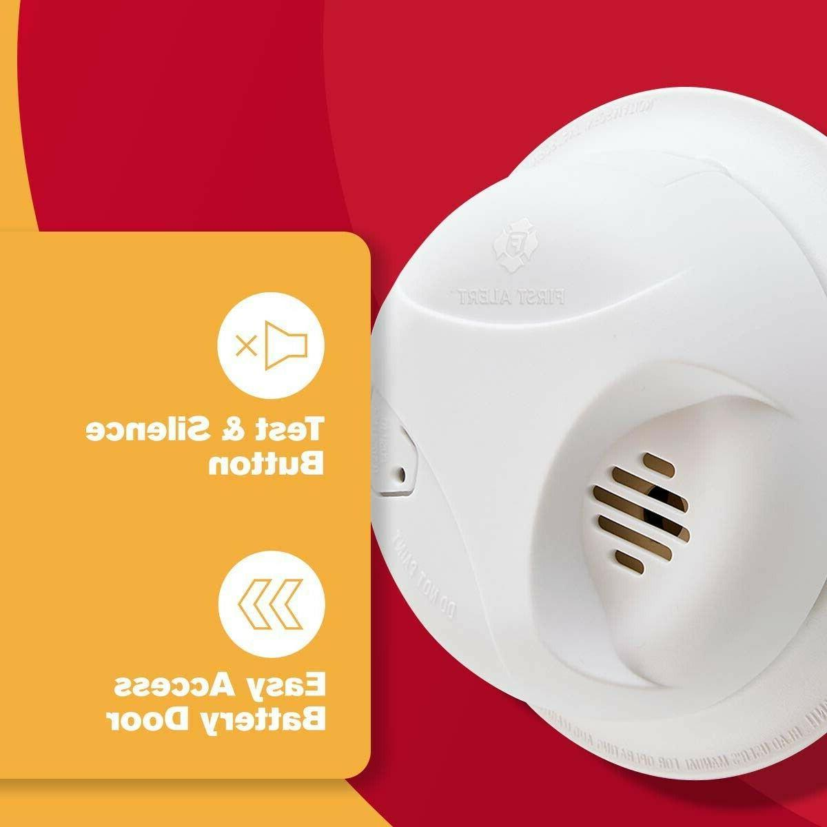 First Smoke Detector Fire Notifier with