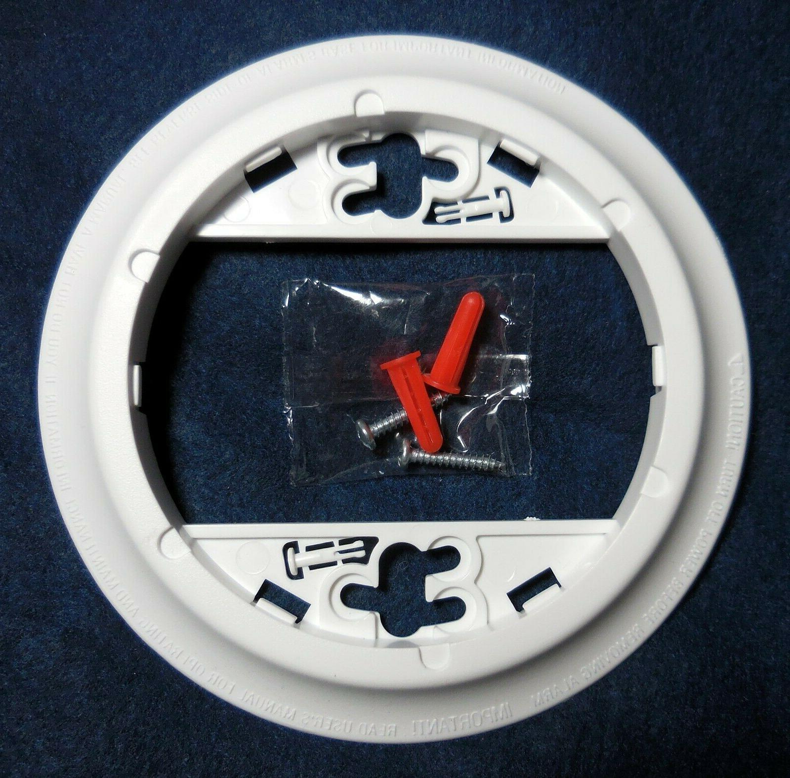 smoke detector mounting plate bracket unused sa304