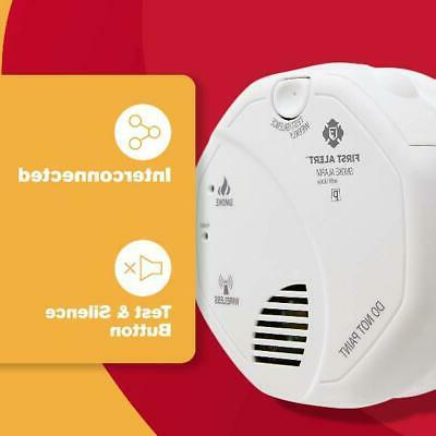 Smoke With Alarm 2 AA Safety