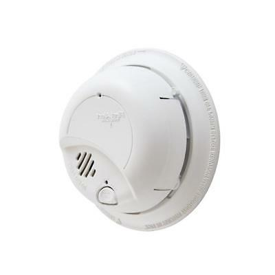 smoke fire detector sensor hardwired w battery