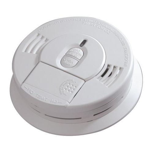 Kidde 27695 120 volt Hush Smoke Alarm Front Battery Backup