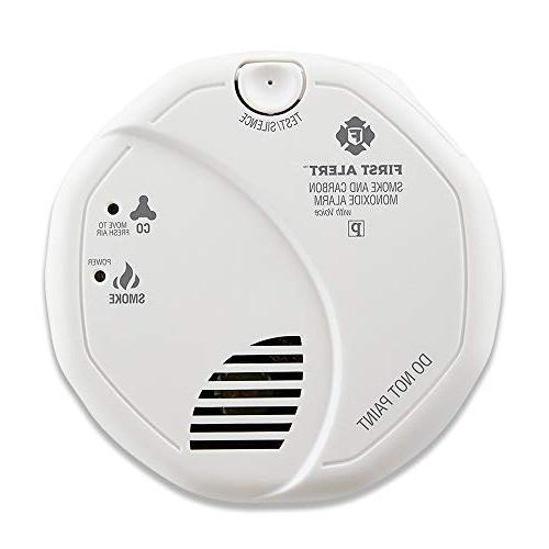 talking combination smoke carbon monoxide