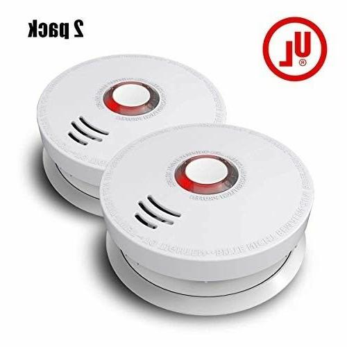 top quality smoke detector 2 pack photo