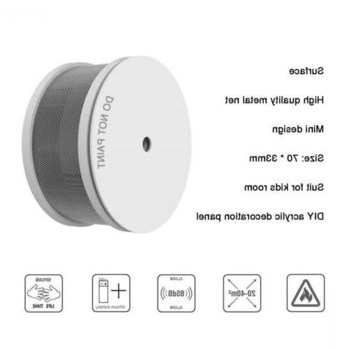 UL Listed Mini Smoke Alarm, with Lithium...