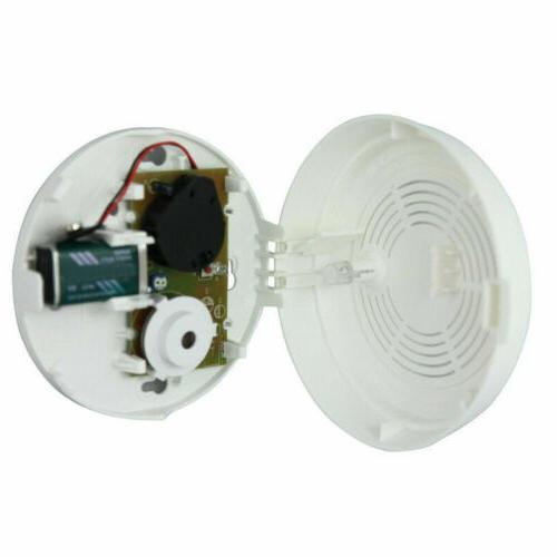 US Sale 2PCS Smoke & Carbon Alarm CO Detector 9V
