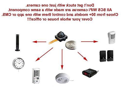 WF-404H: Spy Camera WiFi Digital Signal, Recording & Internet