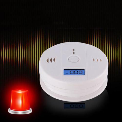 Combination Smoke and Carbon Monoxide Detector Fire Alert Ba