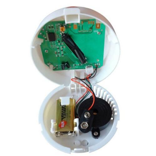 Wireless Detector Sensor Home Alarm Security White ASS