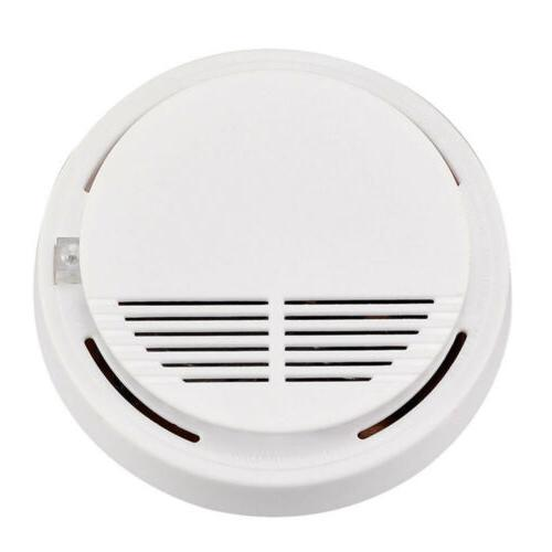 Wireless Smoke Sensor Home Alarm Security ASS