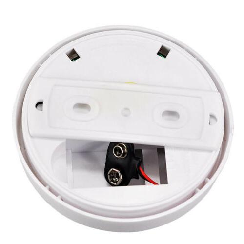 Wireless Smoke Detector Sensor Security ASS