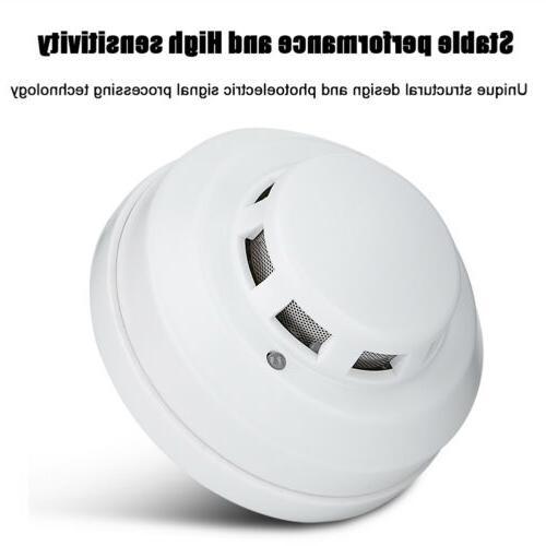 Wireless CO2 Detector Security Alarm Photoelectric Sensor US