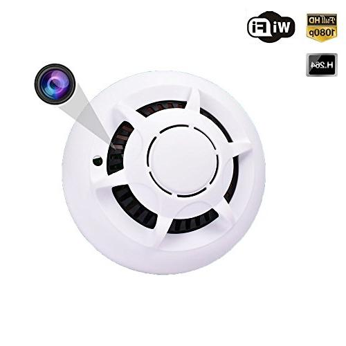 wifi fire alarm detector spy