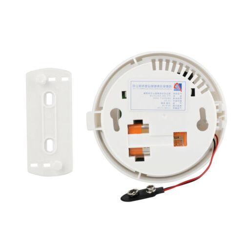 WiFi Smart Smoke Detector Security Battery Operated Sensor