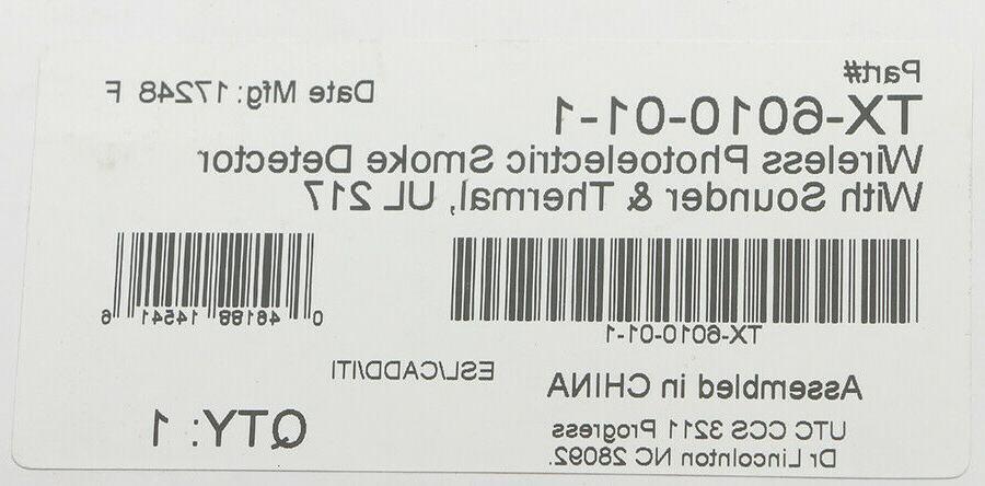 Interlogix Detector Thermal TX-6010