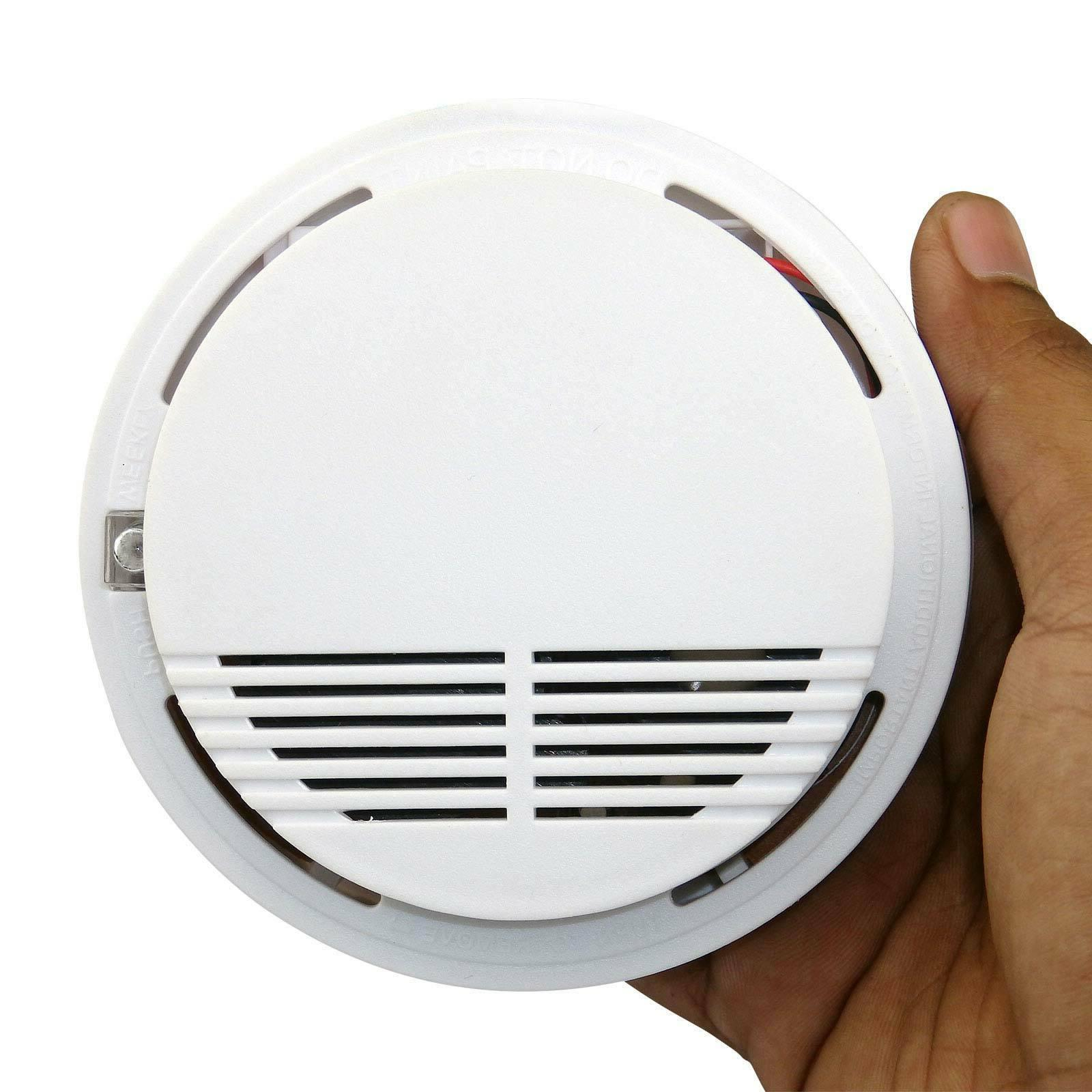 Wireless Smoke Detector Security Fire System