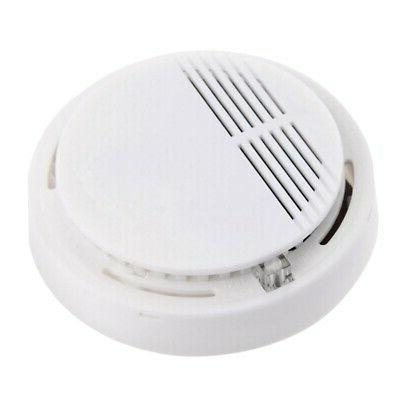Wireless Fire Alarm Sensor Home White