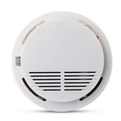 Wireless Smoke Fire Alarm Sensor System Home Security