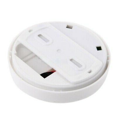 Wireless Smoke Fire Sensor Home White