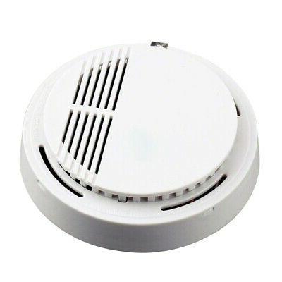 Wireless Smoke Sensor Home White