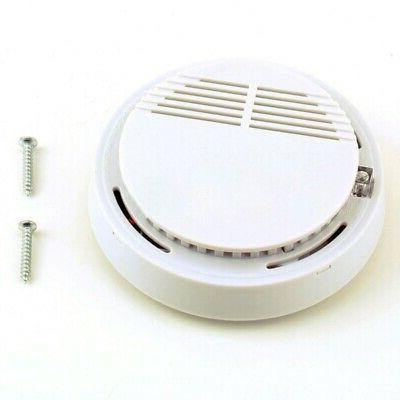 wireless smoke fire alarm sensor system cordless