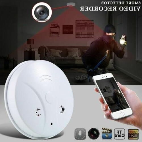 wireless wifi hidden 1080p camera smoke detector