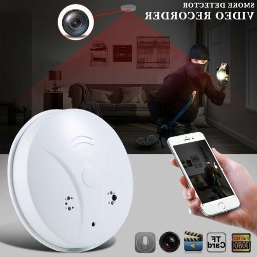 wireless wifi hidden spy camera smoke detector