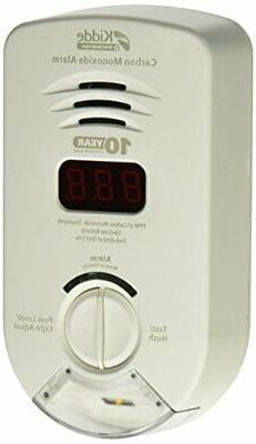 Worry Free Kidde Plug-In Carbon Monoxide Detector w/ 10-Year