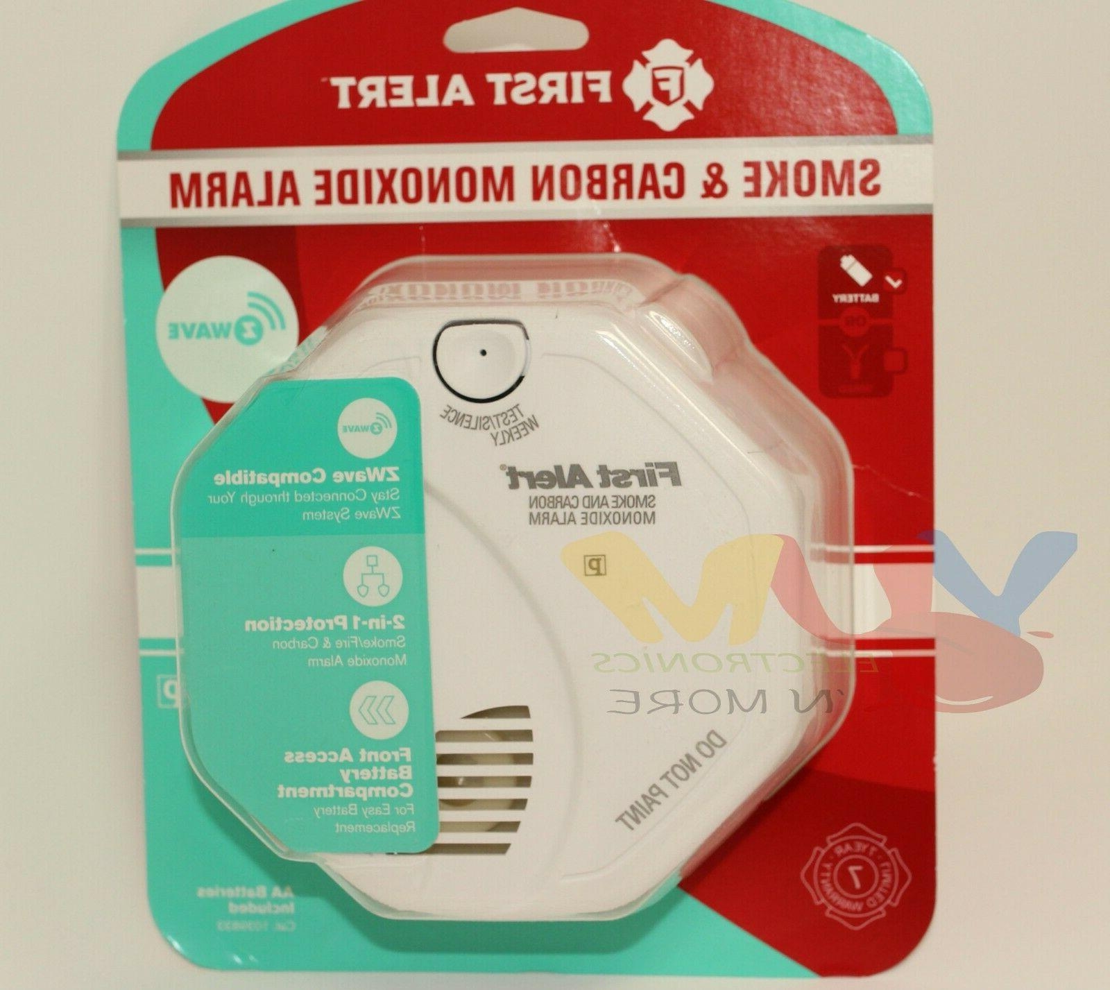 First Z-Wave Combination Photoelectric Smoke and Monoxide Alarm