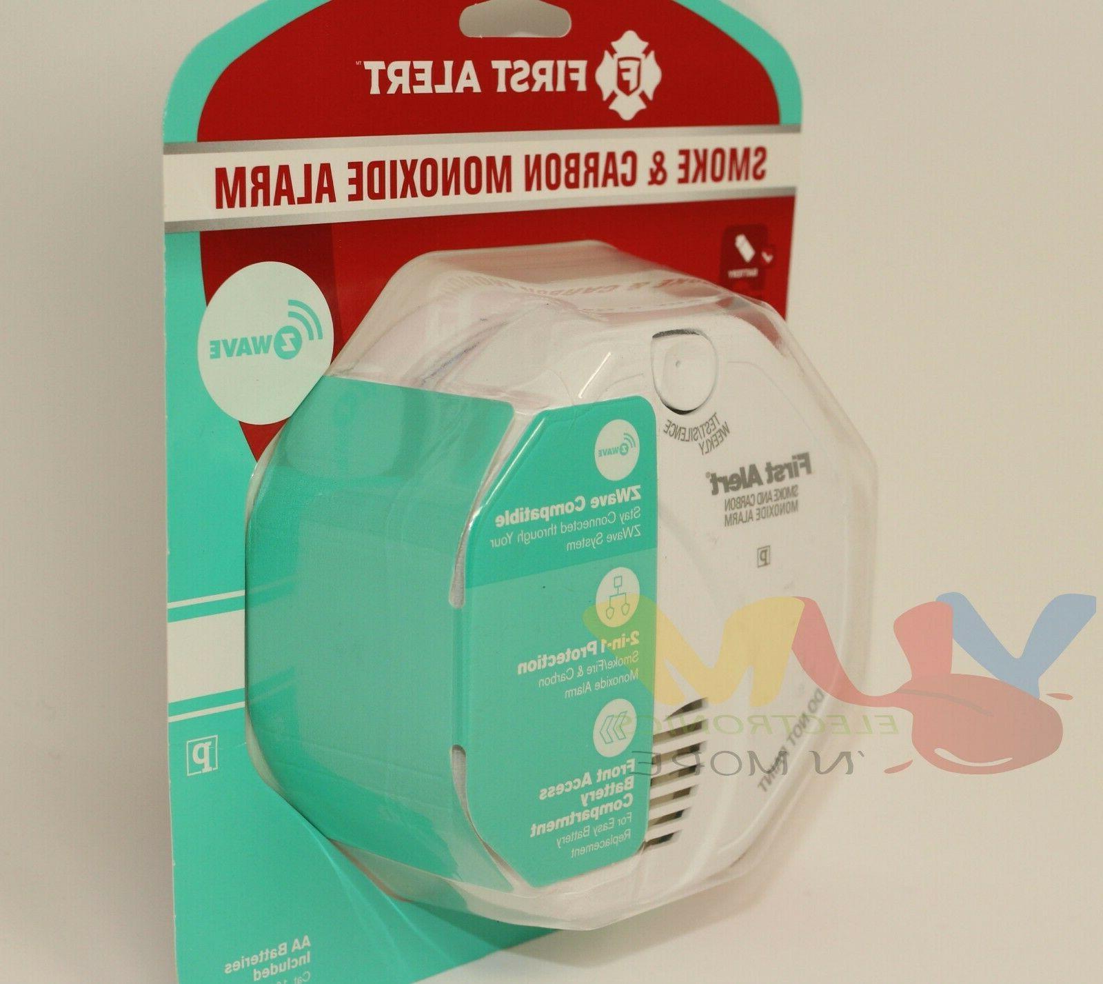 First Photoelectric Monoxide Alarm