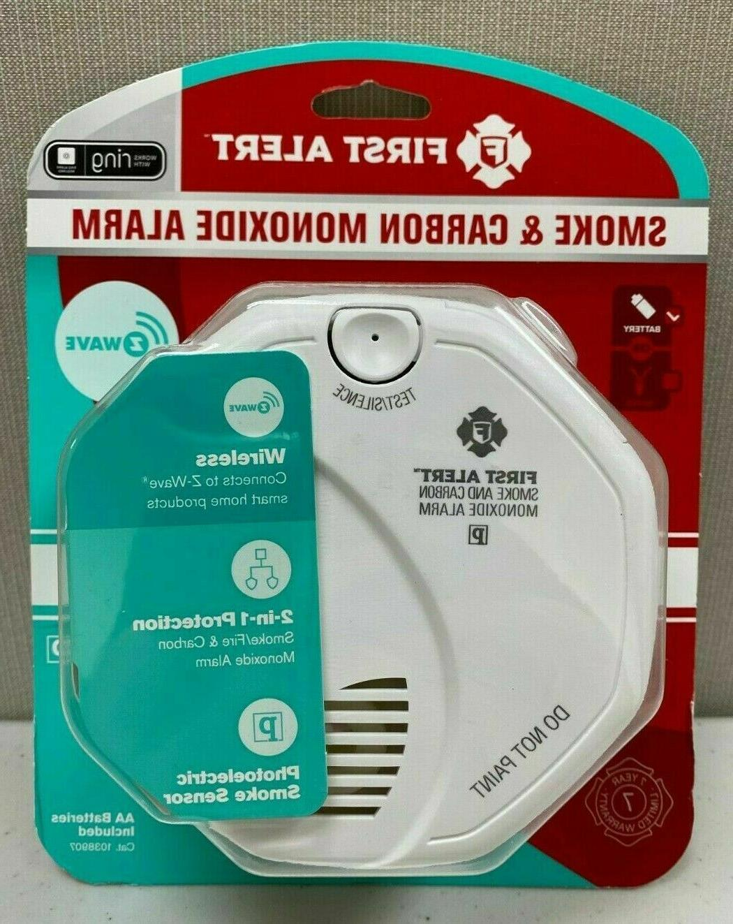 First Alert Z-Wave Smoke and Carbon Monoxide Alarm - Battery