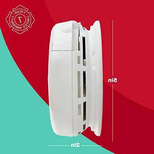First ZCOMBO 2-in-1 Smoke Z-Wave Combo Alarm,