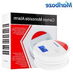 Lcd Sensor Alarm Carbon Detector Gas Co2 Smoke  Home Safety