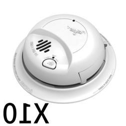 LOT OF 10-First Alert BRK 9120B Smoke Detector