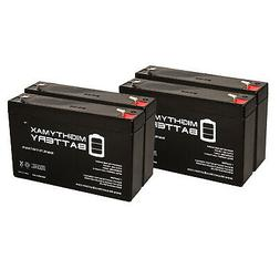 Mighty Max 6V 7Ah SLA Replacement Battery for Smoke Detector