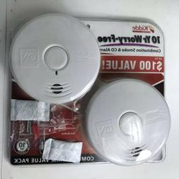 NEW Kidde 10 YEAR! Smoke and Carbon Monoxide detector - Pack